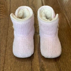 Ugg boots pink knit